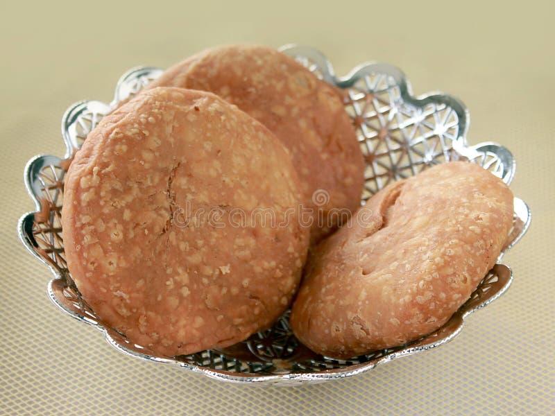 Kachori saboroso indiano fotos de stock