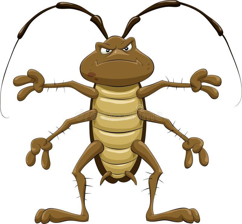 kackerlacka vektor illustrationer