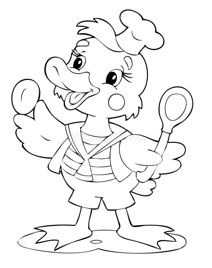 kaczka ilustracja wektor
