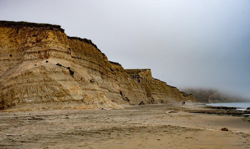 Kaczory Wyrzucać na brzeg, Wskazują, Reyes obywatela seashore fotografia stock