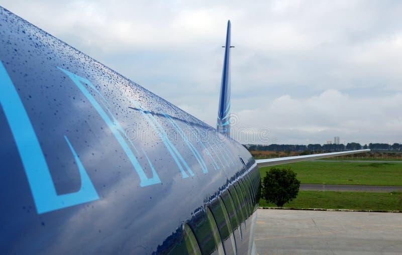 Kadłub pasażerskiego statku powietrznego fotografia stock