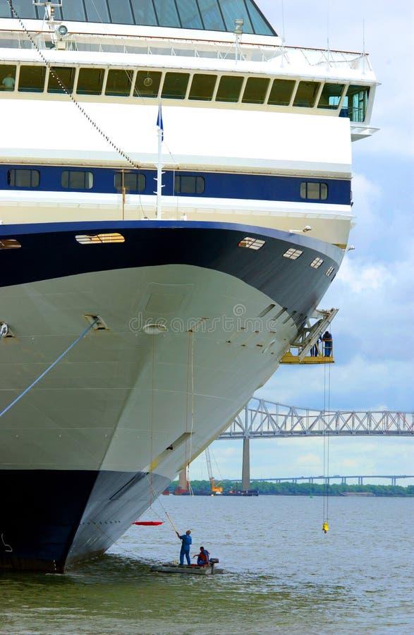 kadłub statku czyste rejs zdjęcie stock