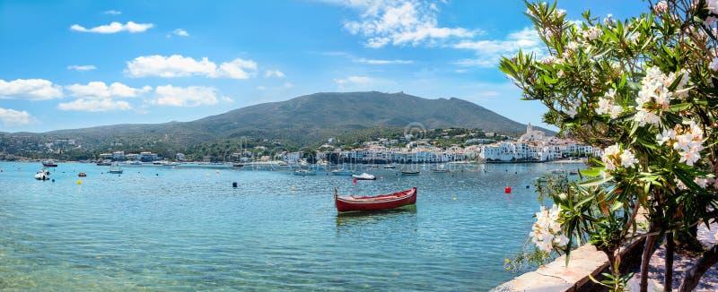 Kadaques resort Costa Brava, Catalonië, Spanje royalty-vrije stock afbeelding
