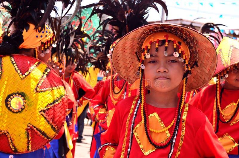Kadayawan节日,达沃市 库存照片