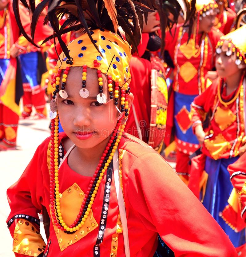 Kadayawan Festival, Davao City royalty free stock photos