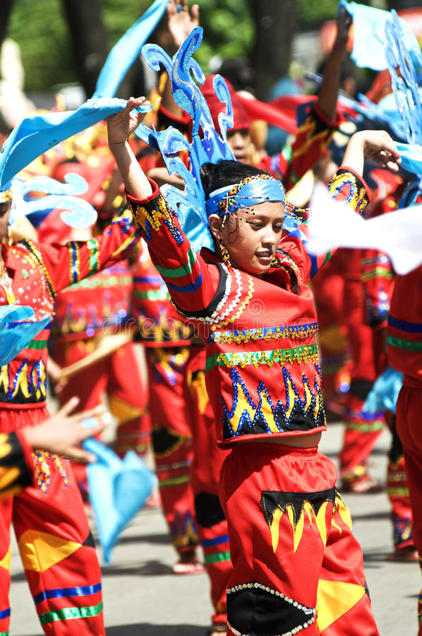 Kadayawan good harvest Festival stock image