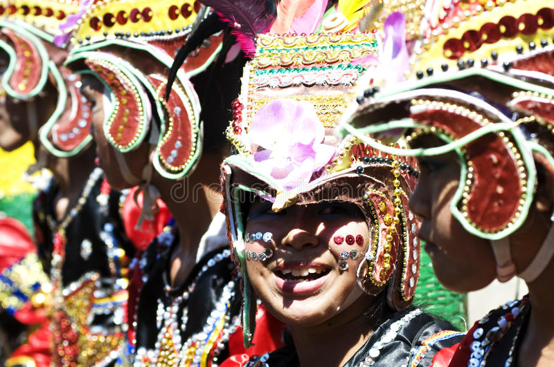 Kadayawan good harvest Festival stock photo