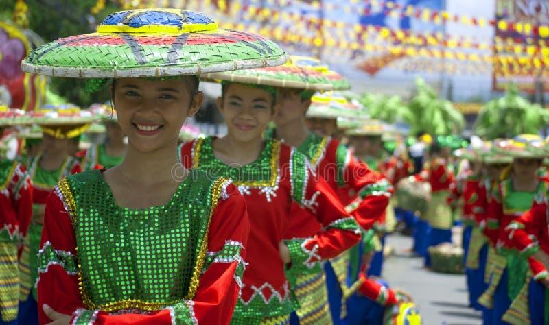 Kadayawanfestival 2014 royalty-vrije stock foto's