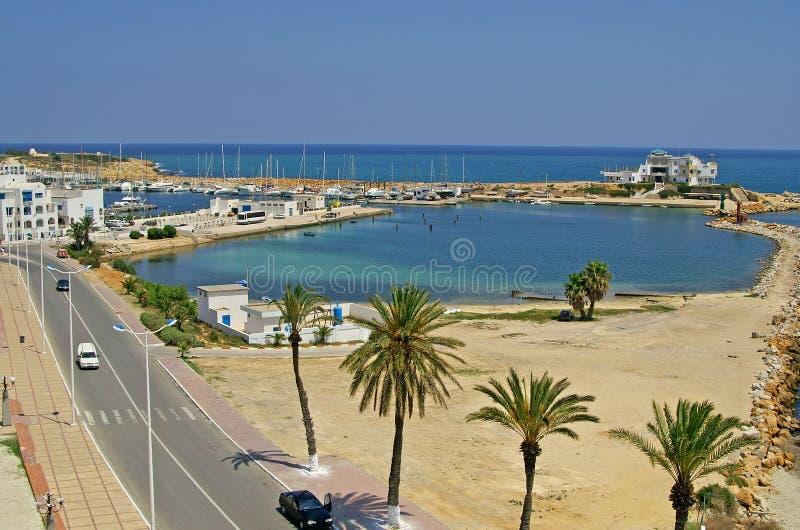 Kade in Monastir, Tunesië stock afbeelding