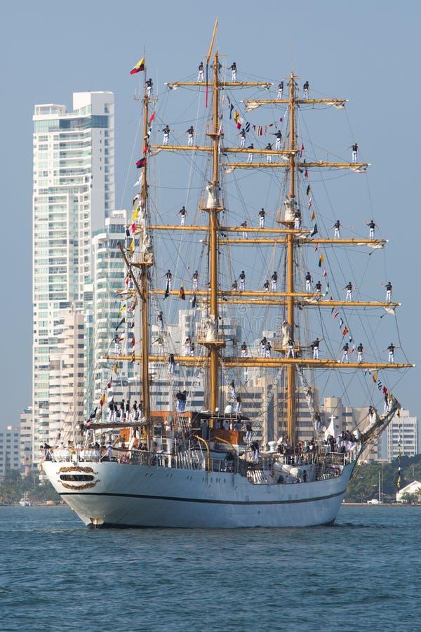 Kadeci od Almirante Padikka Morskiej szkoły obrazy stock