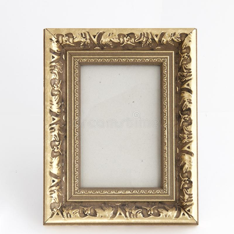 Kader van rechthoekige vorm van hout royalty-vrije stock foto's