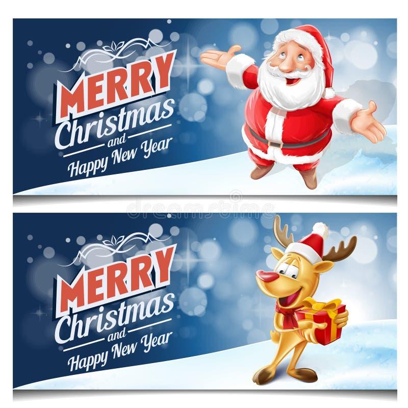 Kader voor Kerstmis royalty-vrije stock afbeelding