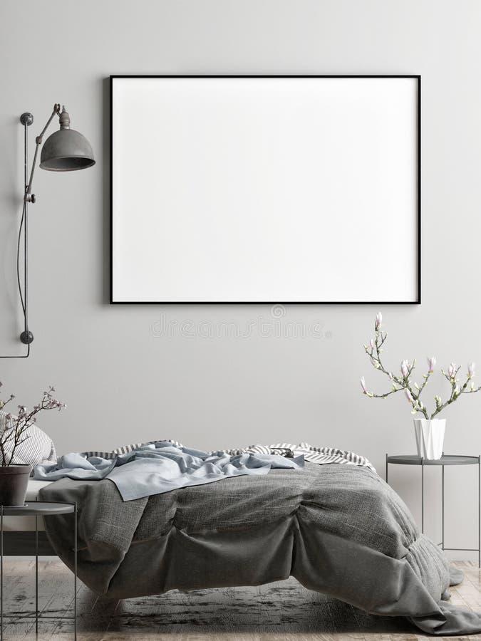 Kaderspot omhoog in Skandinavische stijl Perfect voor het Brandmerken van uw verwezenlijking of zaken stock illustratie