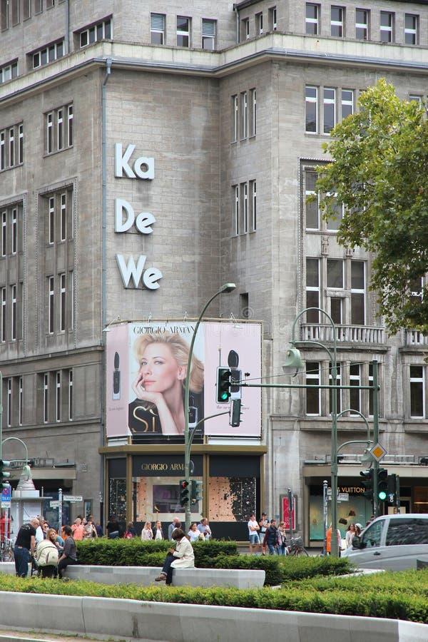 KaDeWe Berlin royaltyfria bilder