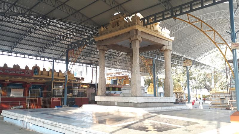 Kadiri Lakshmi Narasimha Swamy Świątynny Ananthapur, Andhra Pradesh fotografia stock