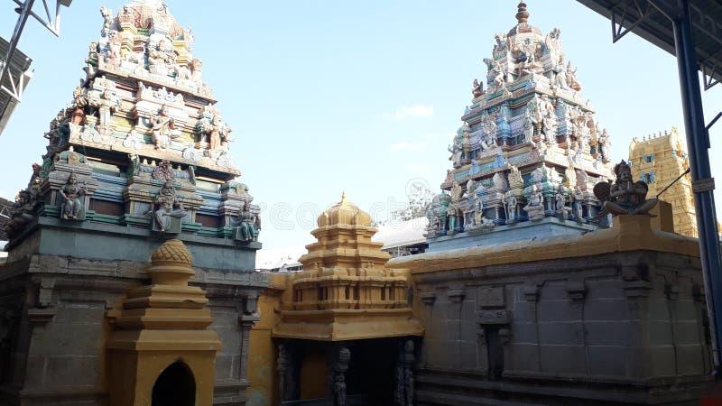 Kadiri Lakshmi Narasimha Swamy Świątynny Ananthapur, Andhra Pradesh zdjęcia royalty free