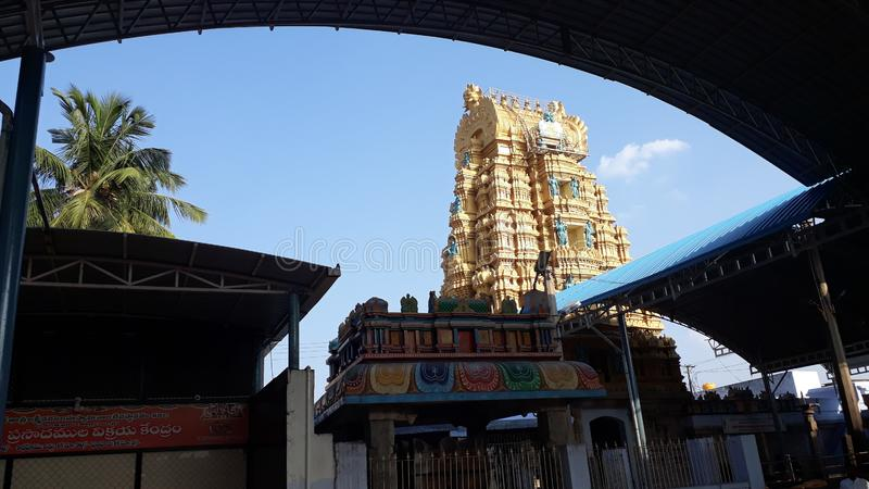 Kadiri Lakshmi Narasimha Swamy Świątynny Ananthapur, Andhra Pradesh obraz stock