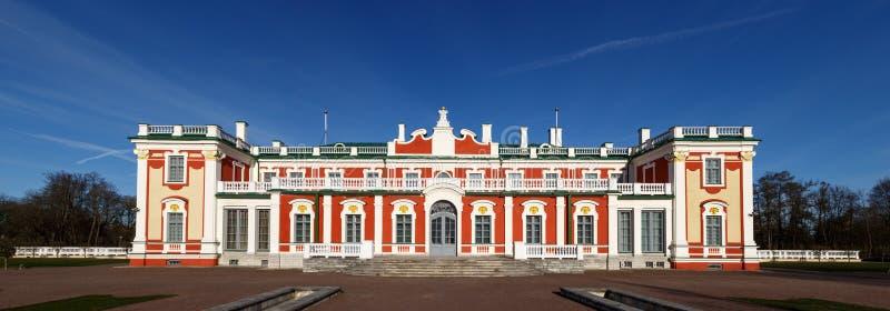 Kadriorg宫殿 库存照片
