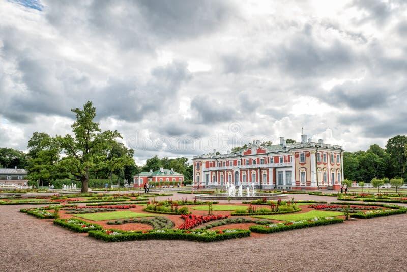 Kadriorg Palace in Tallinn, Estonia royalty free stock photography