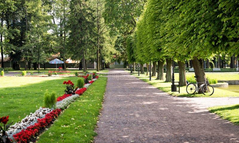 Kadriorg park w Tallinn, Estonia zdjęcia royalty free