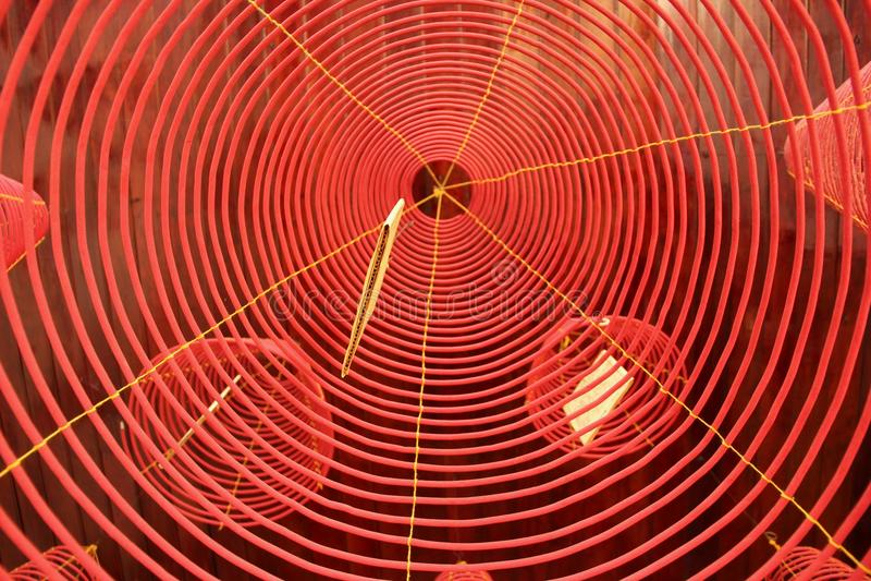 Kadzidłowa zwitka zdjęcia stock