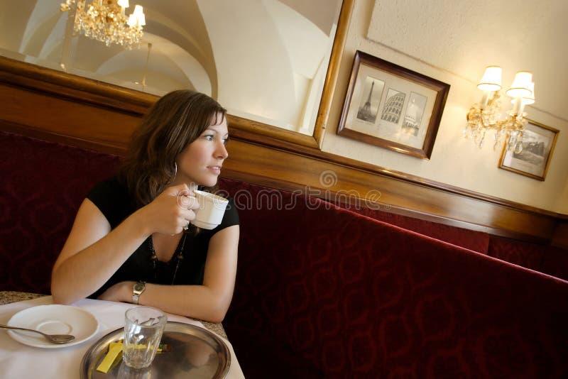 kafé royaltyfria bilder