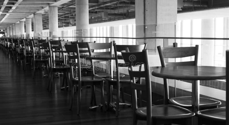 Kafé i flygplats royaltyfria foton
