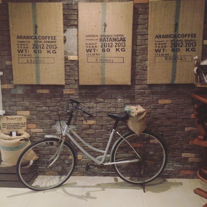 Kaféförälskelse arkivbilder