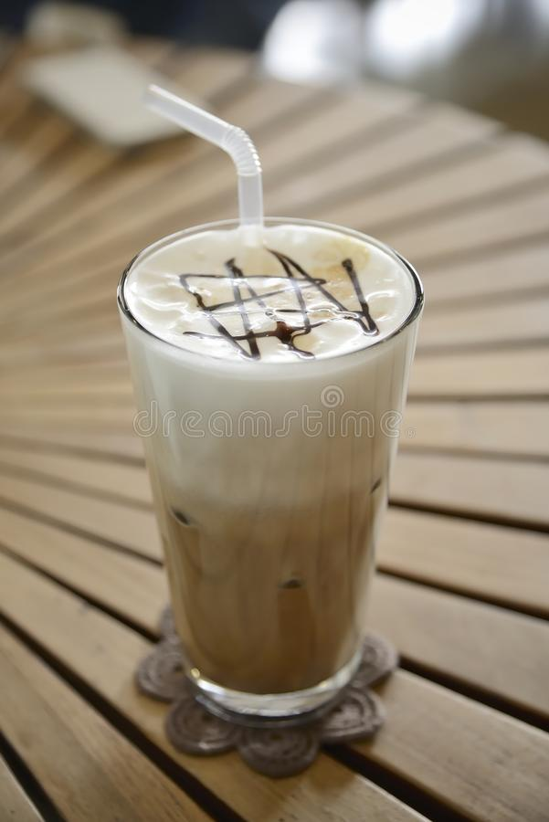 kafémockakaffe royaltyfri bild