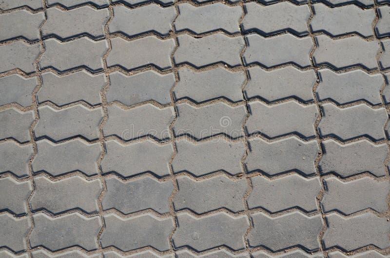 Kafelkowa footpath tekstura obraz stock