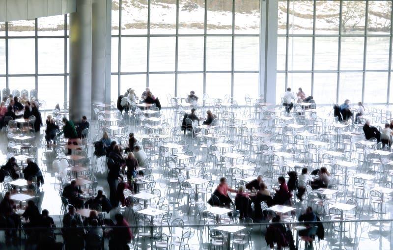 kafeteria royaltyfri foto