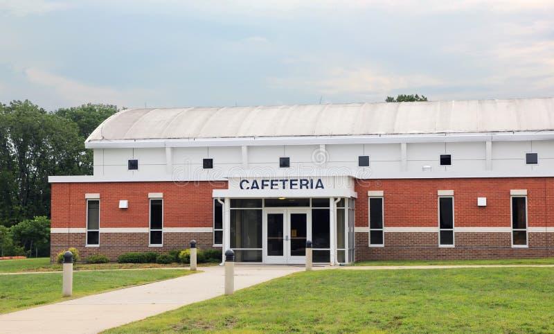kafeteriaskola royaltyfri bild