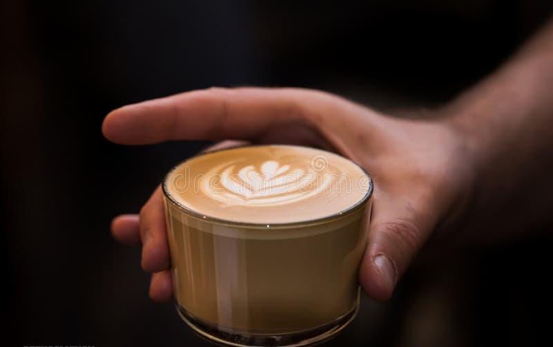 Kaffe är det bästa vila stället fotografering för bildbyråer