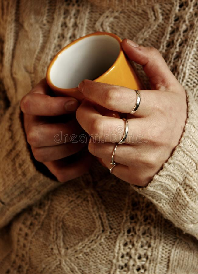 Kaffe är liv royaltyfria bilder
