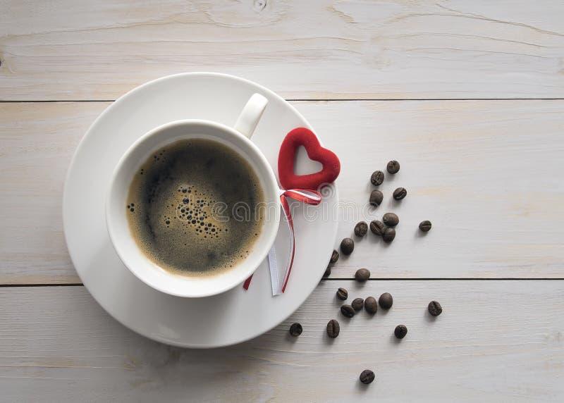 Kaffe för älskad arkivfoton