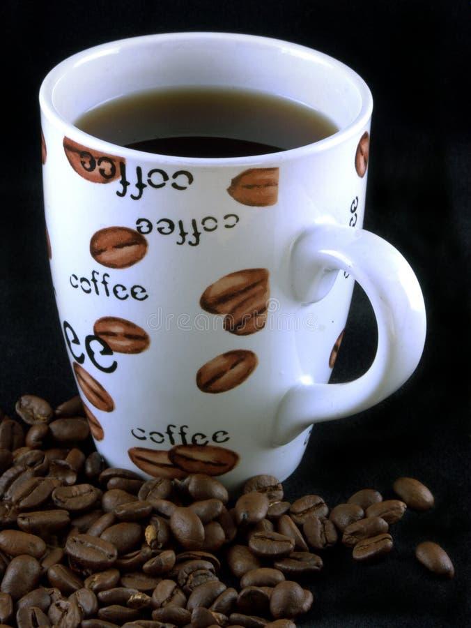 kaffe för 7 bönor royaltyfria foton