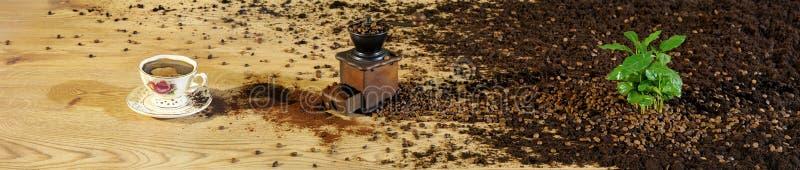 Kaffe från a-z arkivfoto