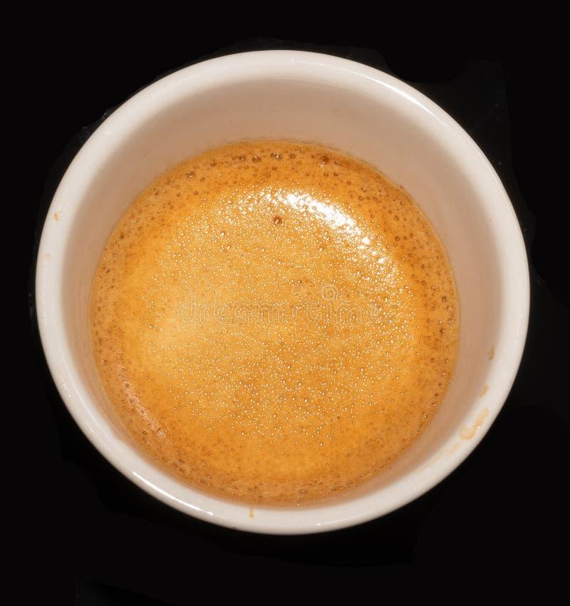 Kaffe Kopp skum Makro varmt beverly _ royaltyfria bilder
