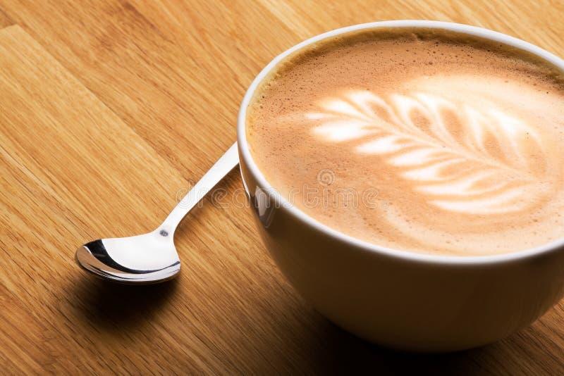 Kaffe Latte image stock
