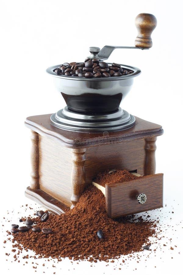 kaffe mal royaltyfria bilder