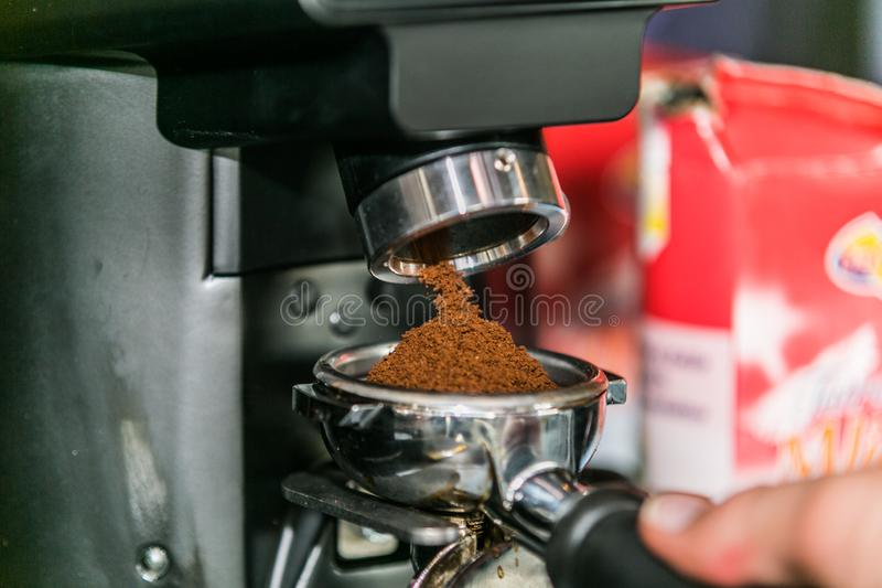 Kaffe med olika alternativ royaltyfri fotografi