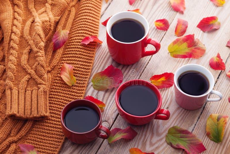 Kaffe med vänner royaltyfri foto