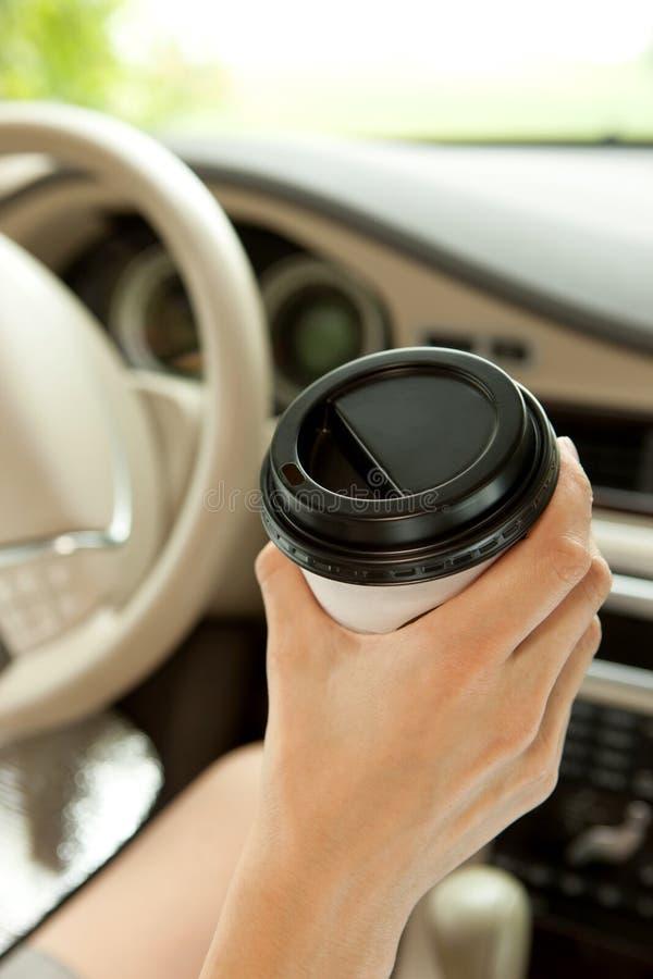 kaffe mer tid arkivbild