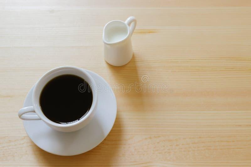 kaffe mjölkar royaltyfria foton