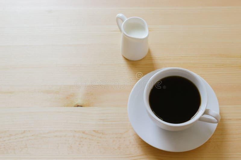 kaffe mjölkar royaltyfri bild