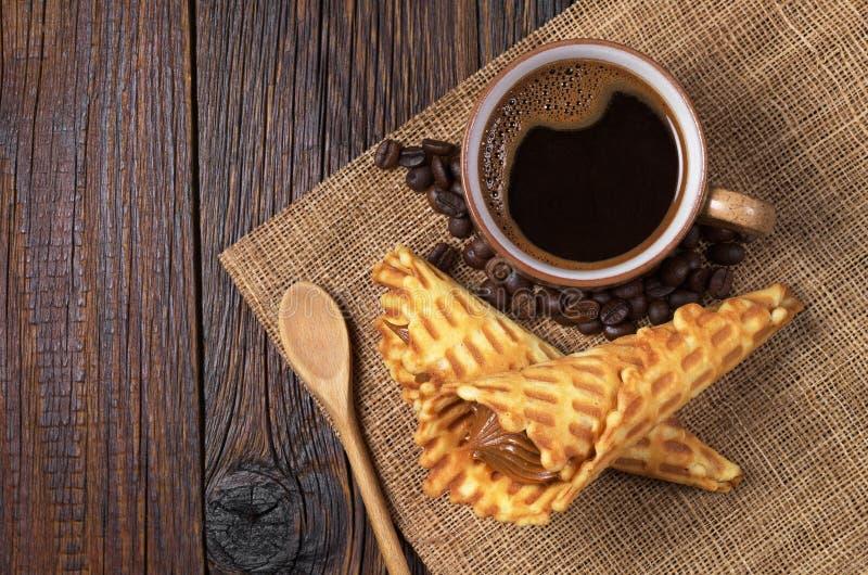 Kaffe- och dillandekottar arkivbild