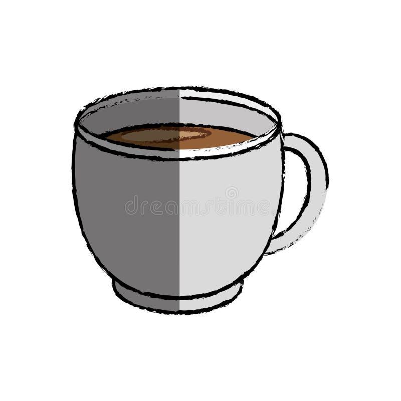 Kaffe rånar symbolen royaltyfri illustrationer