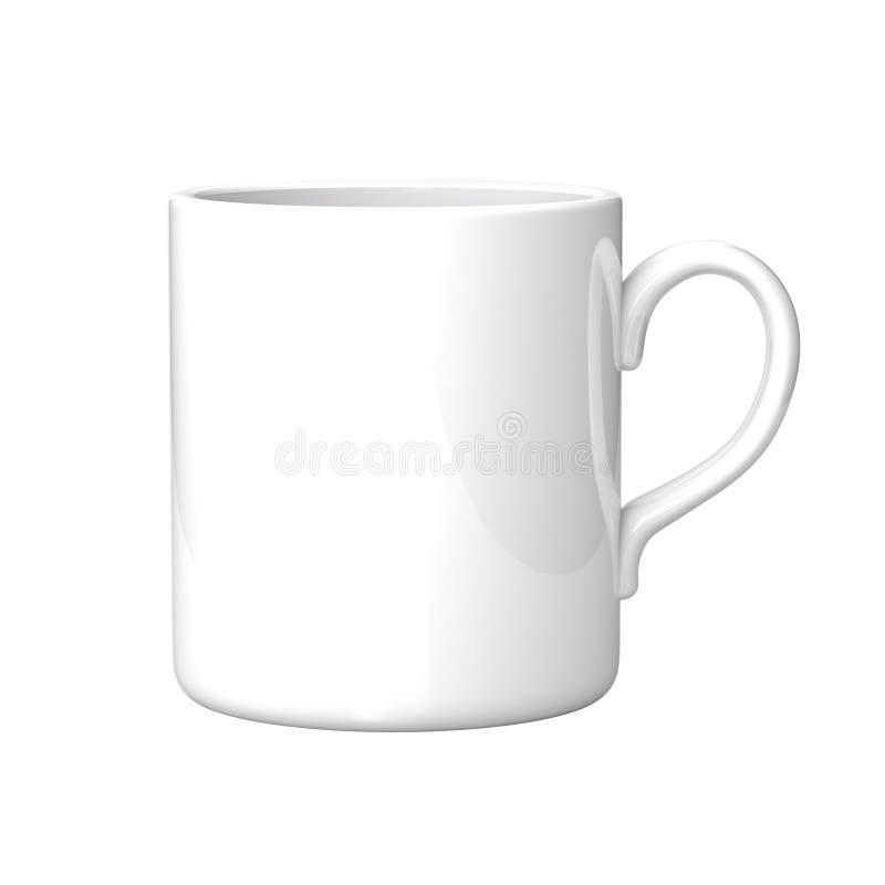 kaffe rånar white stock illustrationer