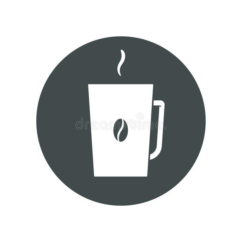 kaffe r?nar vektor illustrationer