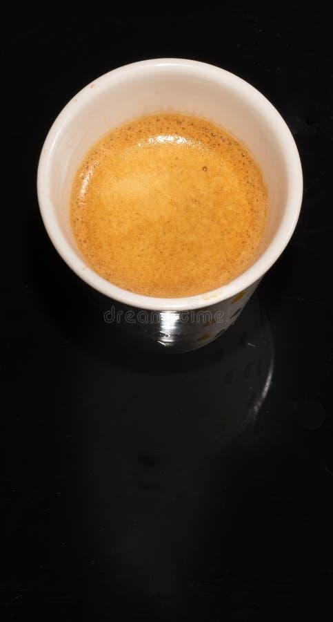 Kaffe skum Kopp varmt beverly _ arkivbild